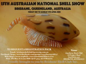 15th National Australian Shell Show @ Gaythorne Bowls Club